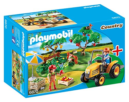 Playmobil StarterSet - Country Cosecha Huerta Playsets