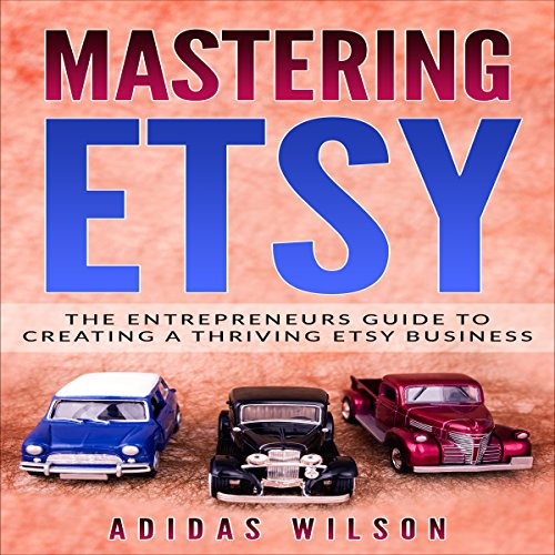 Mastering Etsy audiobook cover art