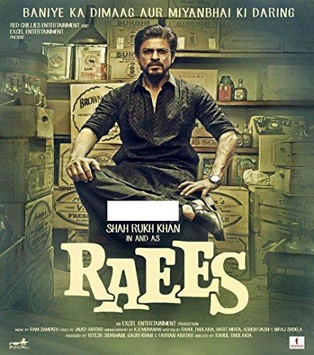 Raees Hindi CD - Shahrukh Khan Bollywood latest Hindi Film Songs
