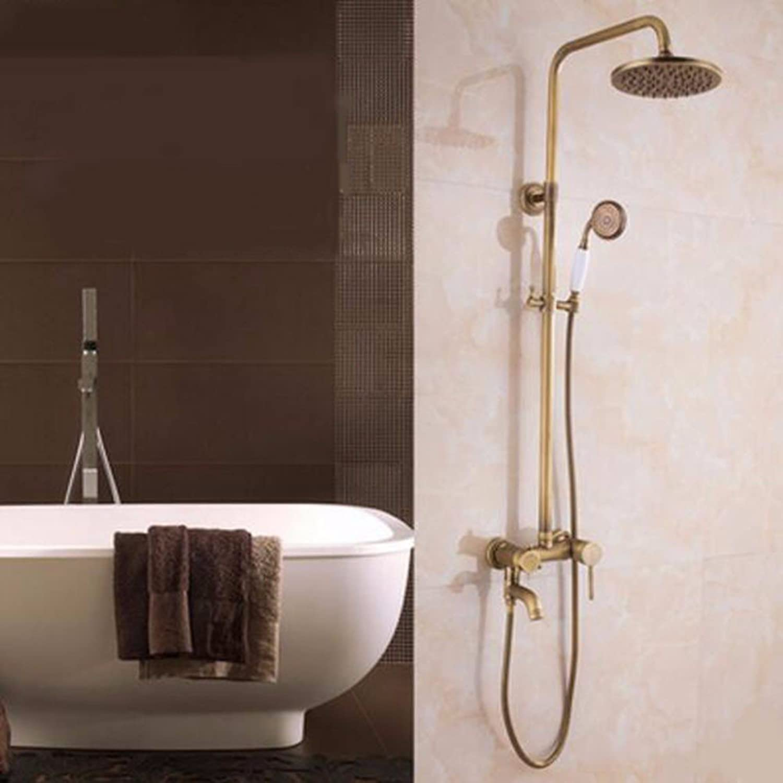 Shower set The Whole Bathroom Shower Big European Copper Three Common Base Shower Set