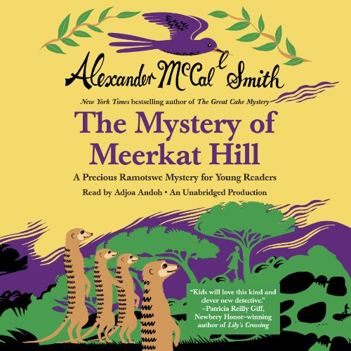 The Mystery of Meerkat Hill audiobook cover art