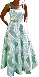 VERWIN Maxi Slip Dress for Women Square Neck Sleeveless Floor-Length Maxi Dress Long Dress