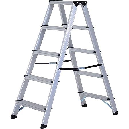 Alu Leiter mit 5 Stufen