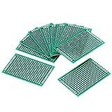 Placa de prototipos de 10 piezas, placa de rejilla lateral doble de 4 × 6 cm Accesorios para...