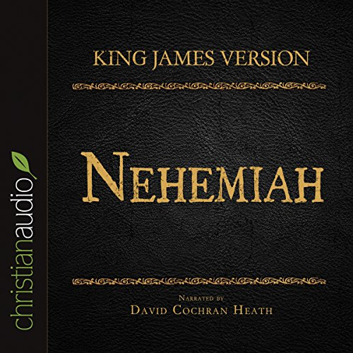Holy Bible in Audio - King James Version: Nehemiah audiobook cover art