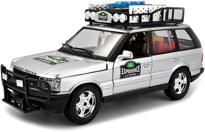 saludable ZHPBHD ZHPBHD ZHPBHD Vehículo Todoterreno SUV Modelo 1 24 de simulación de aleación Modelo de Coche de Juguete Modelo de vehículo Todo Terreno decoración colección de Joyas 19.5x7.5x8.5CM Modelo  suministramos lo mejor