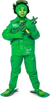 Cosplay.fm Child Green Army Man Deluxe Soldier Costume For Halloween