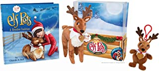 The Elf on the Shelf Elf Pets Tradition with Plushee Pals Clip On Mini - Reindeer