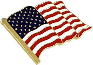 Forge American Flag Lapel Pin Proudly Made in USA (1 Piece)