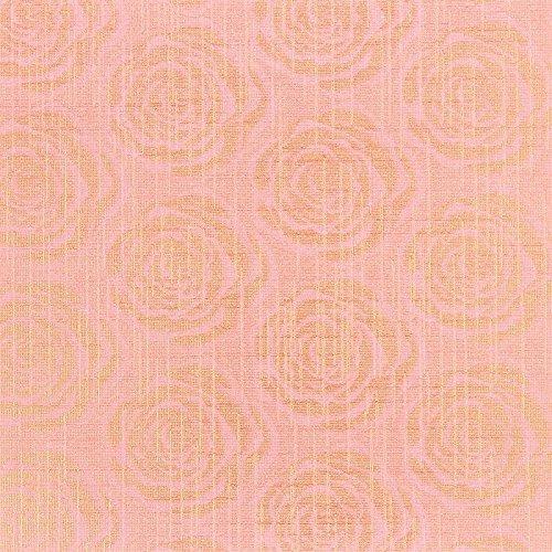 Diseño faltpapiere, diseño de rosas, 10x 10cm, 100hojas de papel, color rosa | para diferentes técnicas plegable, Origami, papel para manualidades, DIY, arte, artesanía