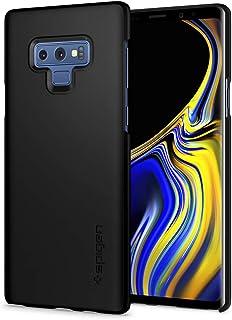 【Spigen】 スマホケース Galaxy Note9 ケース [ SC-01L SCV40 ] 対応 レンズ保護 超薄型 超軽量 指紋防止 ワイヤレス充電対応 シン・フィット 599CS24566 (マット・ブラック)