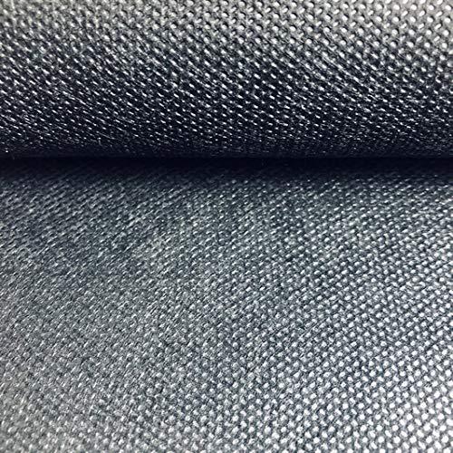 LAS TELAS ... Pack TNT Colores 3Mtrs, Tejido sin Tejer, Tejido no Tejido, Tejido para Ropa Desechable Médica. Ancho 0,80 Mtr. 70Grms. (Negro)