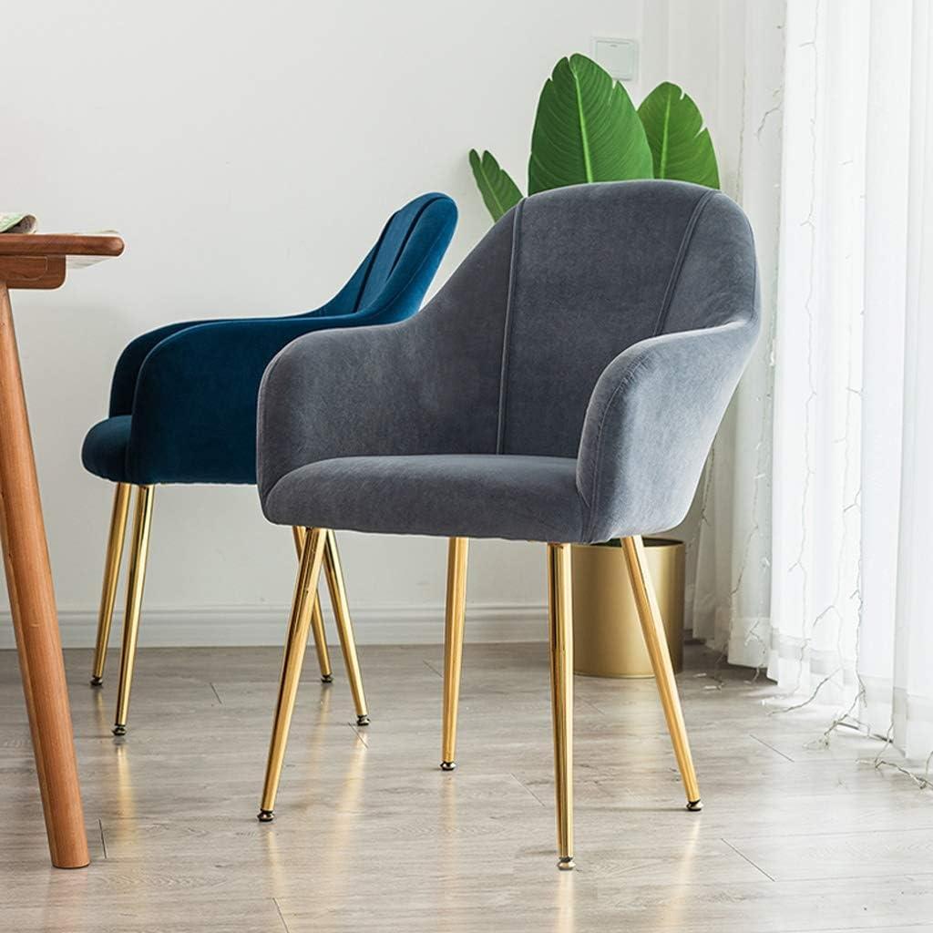 FENDOU Chaise de salle à manger simple, dossier créatif, chaise de loisirs, chaise de salle à manger pour adulte, mode (couleur : vert) Gris