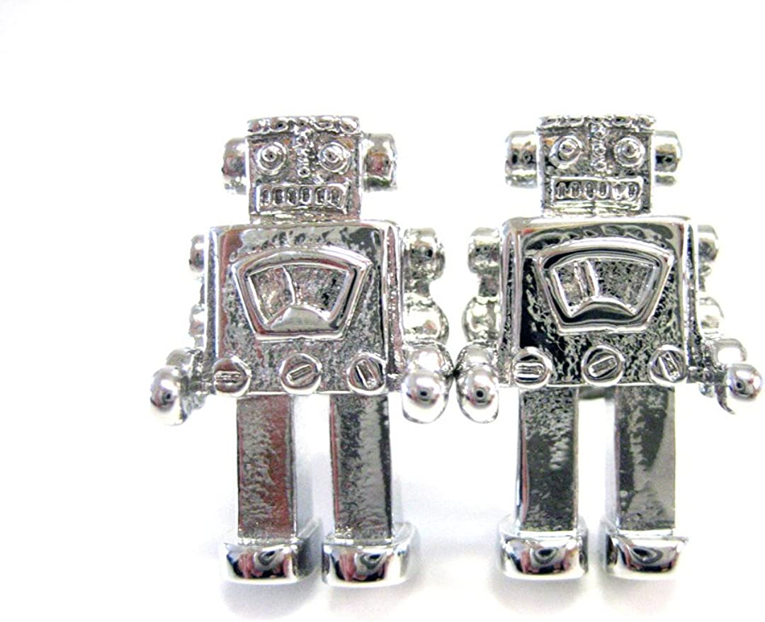 Kiola Designs Retro Robot Cufflinks