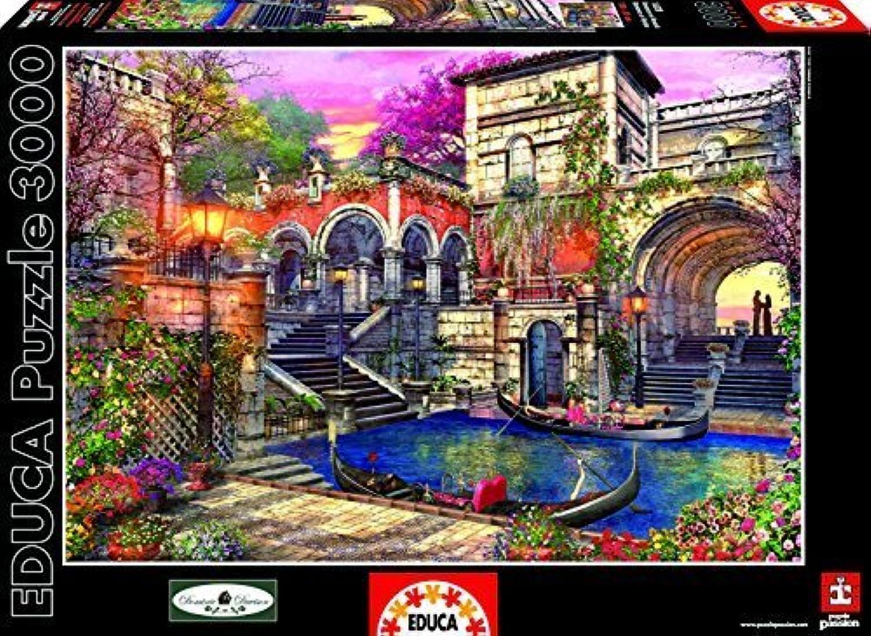 Educa Kids Venice Courtship Puzzle (3000-Piece) by Educa