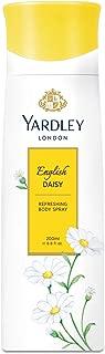 Yardley English Daisy Body Spray for Women, 200 ml