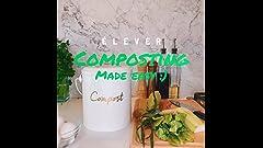 Amazon.com : Mountable Kitchen Compost Bin by Zero Waste ...