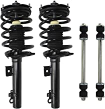 Sedan Only - Both (2) Rear Driver & Passenger Side Complete Strut & Spring Assembly with (2) Sway Bar End Links - Sedan ONLY
