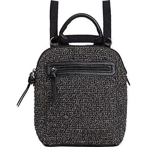 The Sak Loyola Mini mochila convertible de crochet, urbana estática