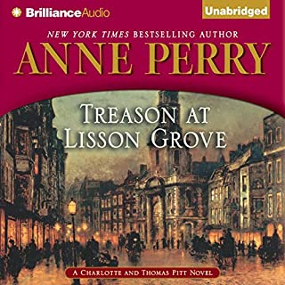 Treason at Lisson Grove audiobook cover art