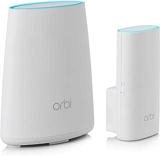 Netgear Orbi RBK30 WiFi Mesh AC2200 Dos unidades para apartamentos y casas de una planta, cobertura wifi de hasta 150 m²