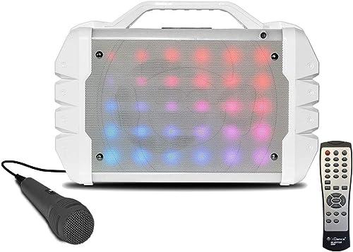 mejor vendido IDance-BL208WH Karaoke azultooth, azultooth, azultooth, Color blanco (BL208WH  entrega rápida
