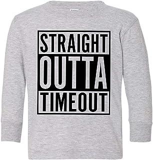 Tenacitee Toddlers Straight Outta Arizona Long Sleeve T-Shirt
