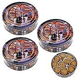 Becky´s Danish Butter Cookies/Dänische Butter Kekse - Gebäck in Weihnachtsdose Crownstreet - 3 x 454 g
