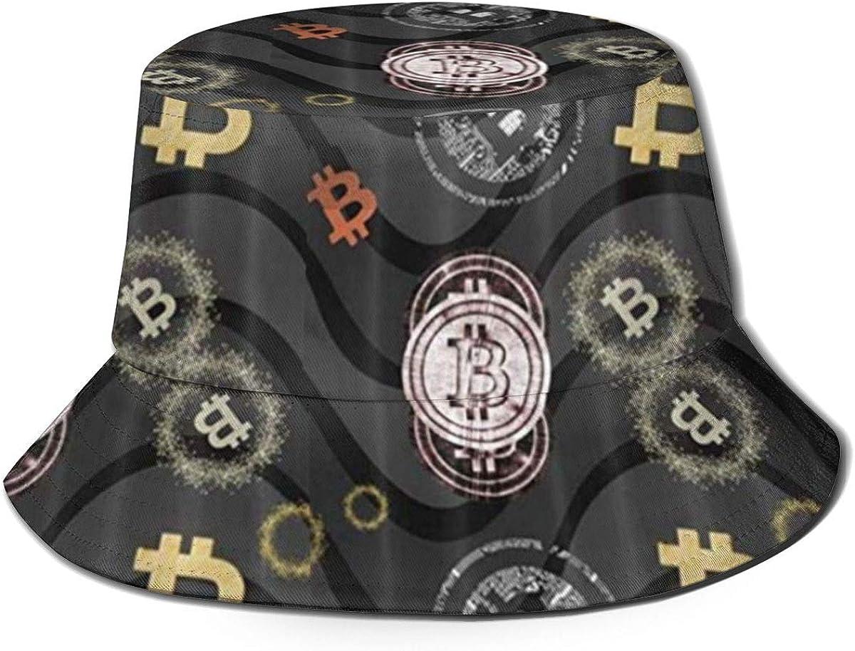Max 69% OFF Milwaukee Mall DIYAB Bitcoin 2 Bucket Hat Hats Summer Packable Cap Fisherman