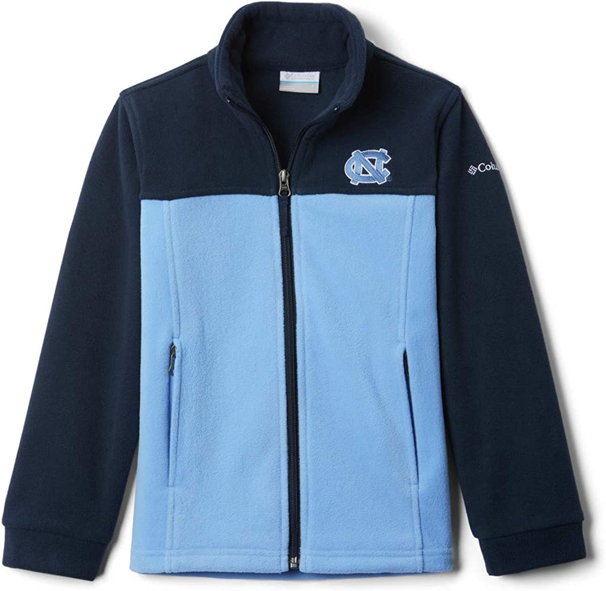 Columbia NCAA boys Flanker Ii Full Zip Fleece