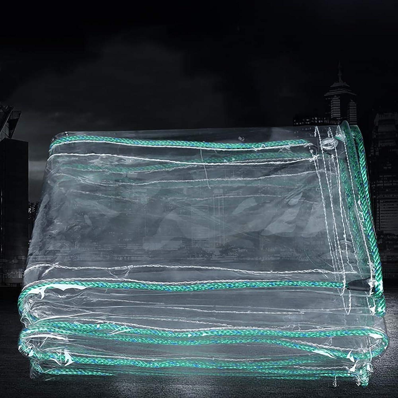 Z&YY Wasserdichte klare Plane für für für schwere Zwecke mit Ösen , Reißfestigkeit verdickt verstärkter Regenschutz-Sonnenschutz im Freien , 0,7 mm 500G   M2 B07MK6CQ79  Angenehmes Gefühl 668086