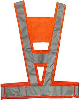 Perfk Safety Vest Jacket Outdoor Sport Cycling Vest Traffic Vest High Visibility