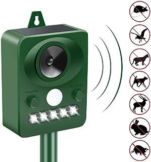Upgraded Animal Repeller Ultrasonic Signal Strong Flash Light Garden Lawn Park Protector Solar Ultrasonic Electronic Anima...