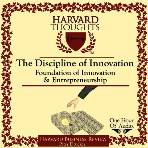 The Discipline of Innovation cover art