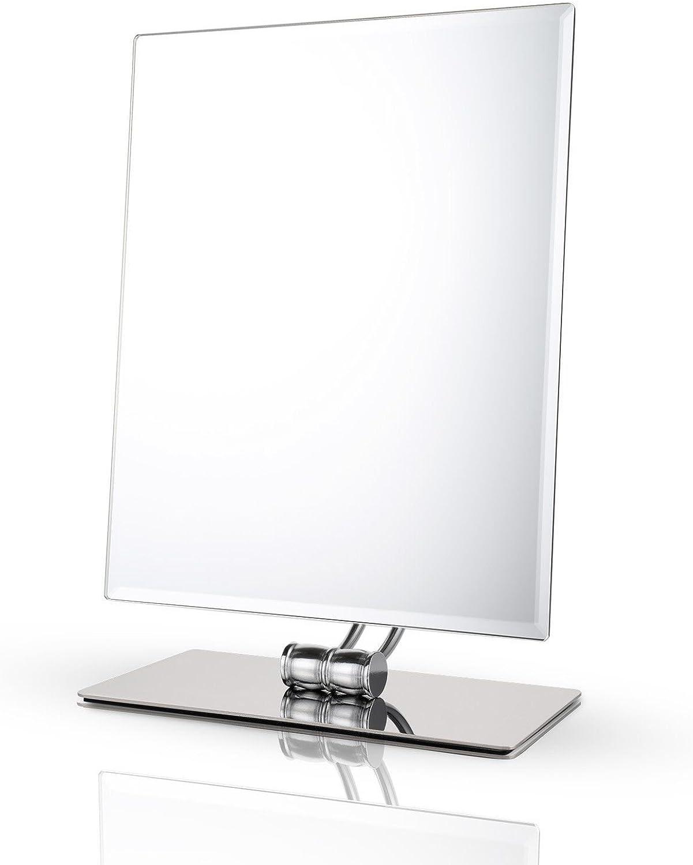 Makeup Mirror,Miusco Tabletop Vanity , Rectangle, Chrome