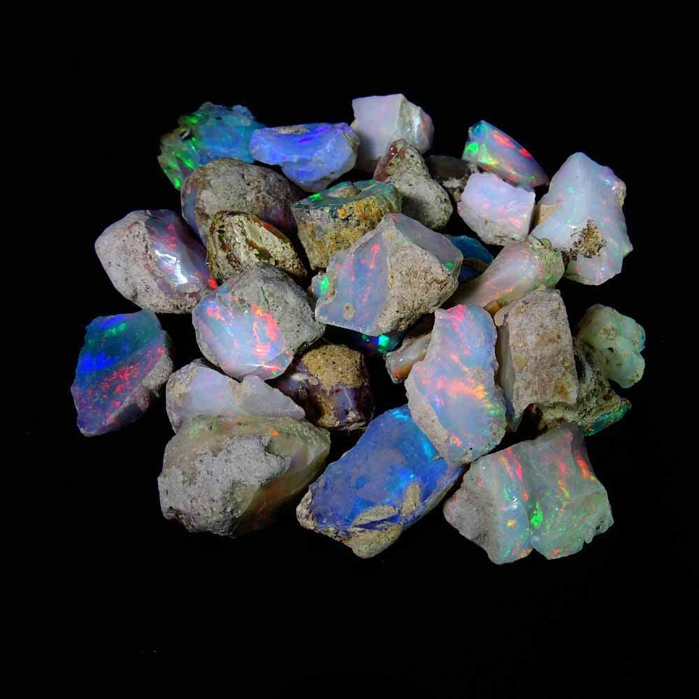 Finally resale start emartwala 300.00 cts. 100% A+ Welo Natural Rough Ethiopian Soldering Opal