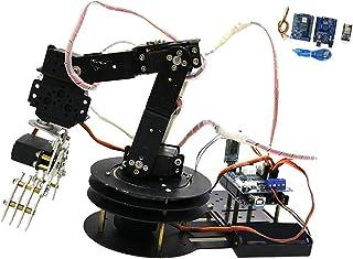 6 DOF Robot Mechanical Arm Kits with Servo DIY Science Experiments