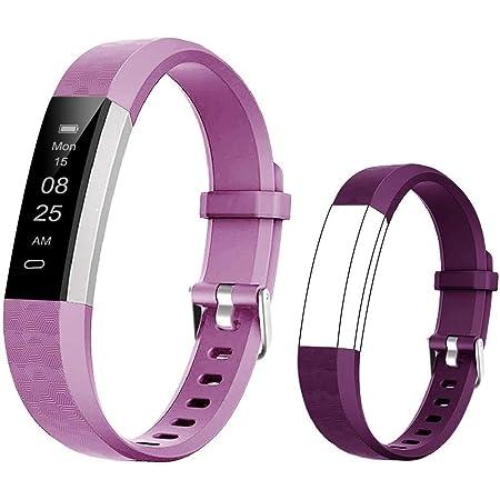 BIGGERFIVE Orologio Fitness Tracker Bambini Bambina, Contapassi Smartwatch con Calorie e Monitoraggio Sonno,Impermeabile IP67 Activity Tracker con Sveglia Silenziosa