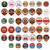 Crazy Cups Custom Variety Pack Flavored Coffee Single Serve Cups For Keurig Kcups Brewers, 40 count...