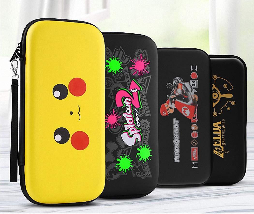 GH GHawk Bolsa de Almacenamiento con Interruptor de Nintendo, Estuche Impermeable de PU y EVA con 10 Ranuras para Tarjetas de Juego, a Prueba de Polvo y anticolisión: Amazon.es: Electrónica