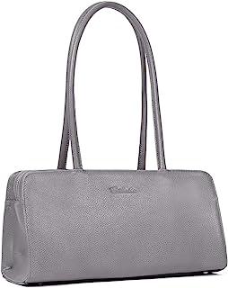 BOSTANTEN Women Designer Handbags Genuine Soft Leather Top Handle Purses and Handbags Satchel Shoulder Bag