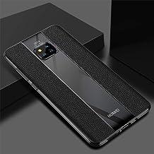Porsche Design TPU Leather Soft Premium Quality Case Cover for Huawei Mate 20 Pro Black