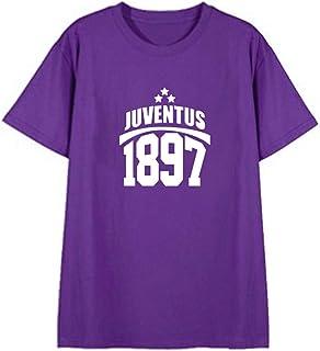 SERAPHY Juventus グラブ Tシャツ ユベントス 1897ロゴ 半袖 カラフルサッカー上着