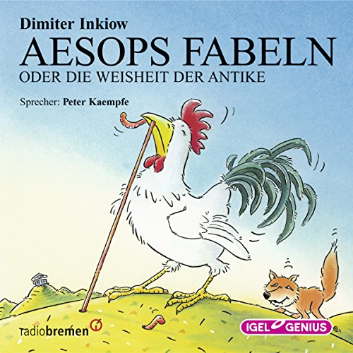 Aesops Fabeln oder Die Weisheit der Antike                   By:                                                                                                                                 Dimiter Inkiow                               Narrated by:                                                                                                                                 Peter Kaempfe                      Length: 1 hr and 51 mins     1 rating     Overall 5.0
