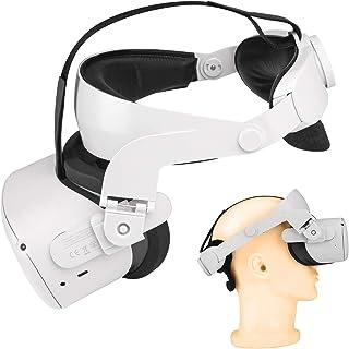 Bandeau VR Oculus Quest 2 Accessoires Sangle de tête réglable de remplacement pour la sangle Quest 2 Elite Support et conf...