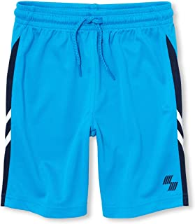 The Children's Place Boys 3001131 Solid Active Drawstring Shorts Shorts - Blue