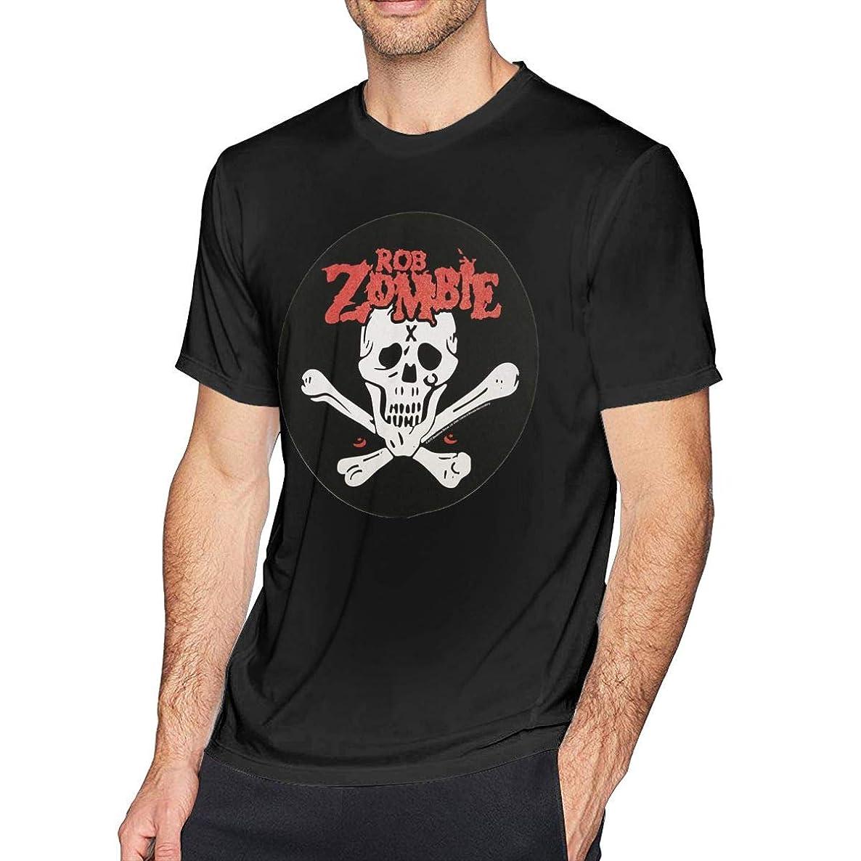 YYonet Mens Cool Rob Zombie T-Shirts Black