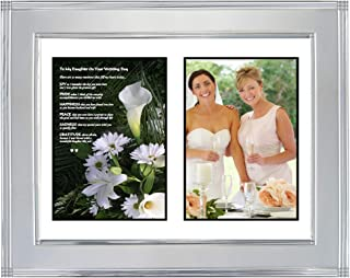 Daughter Wedding Gift from Mother to My Daughter On Your Wedding Day, Add Photo