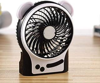 CJW Colgante pequeño Ventilador de la Cintura con Ventilador portátil Portátil USB Mini Ventilador Colgante del Ventilador...