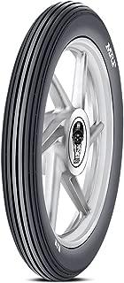 MRF Rib 2.75-18 42P Tube-Type Bike Tyre, Front